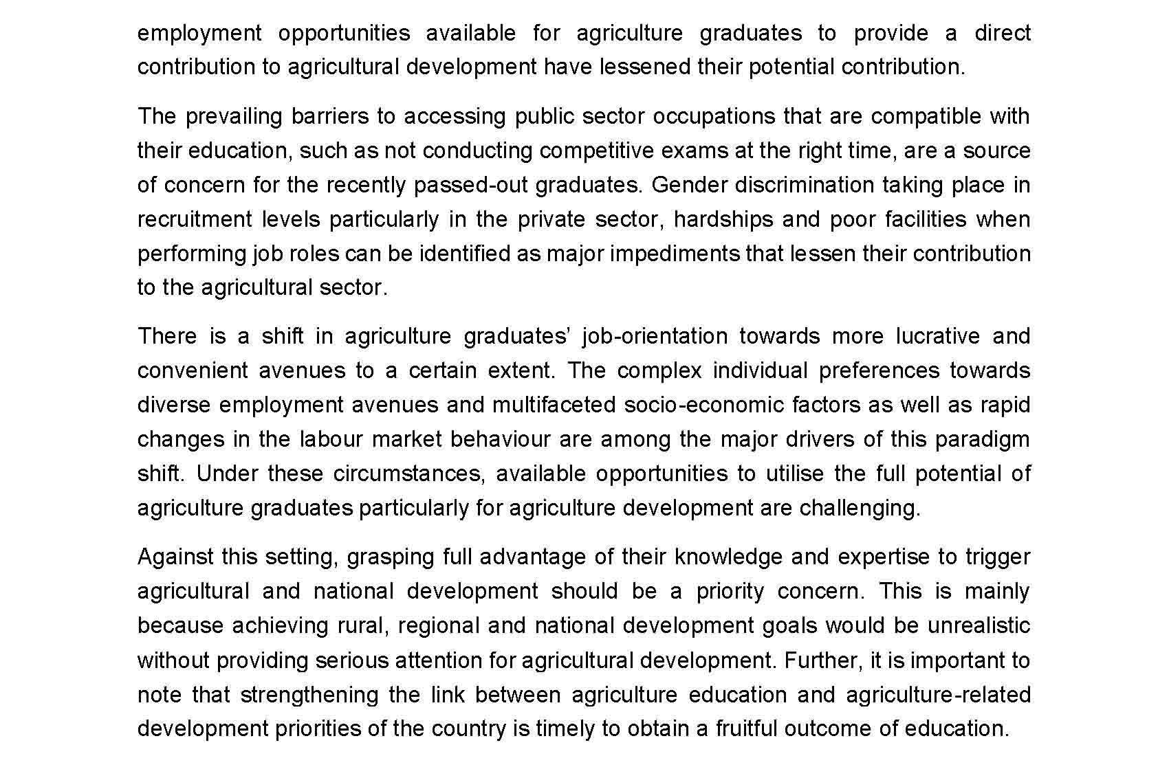 Motivating agriculture graduates with entrepreneurship opportunities Page 4